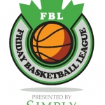 Friday Basketball League Logo
