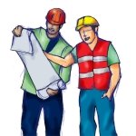 'Construction Worker Illustration