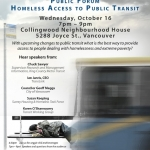 CNH Homeless Action Week Poster